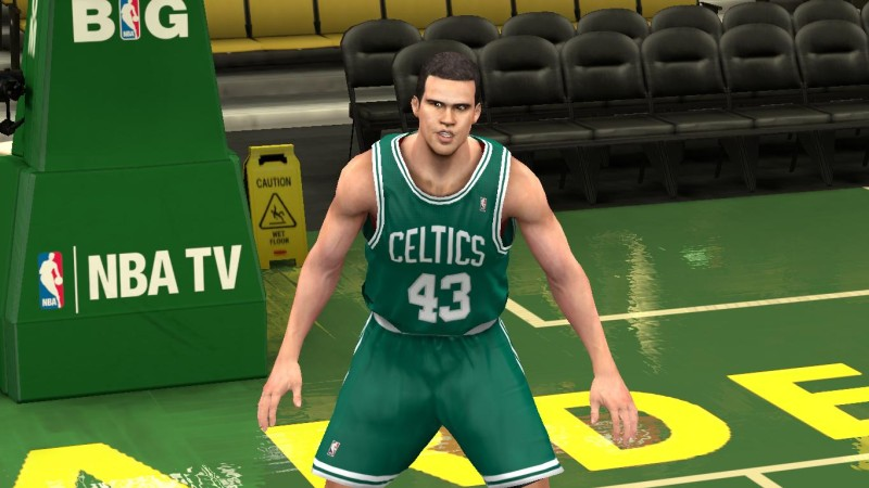 NBA 2K14 Kris Humphries Cyberface Patch