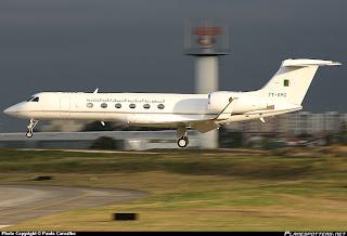 Fuerzas Armadas de Argelia 7T-VPG-Government-of-Algeria-Gulfstream-Aerospace-G-V-Gulfstream_PlanespottersNet_167980