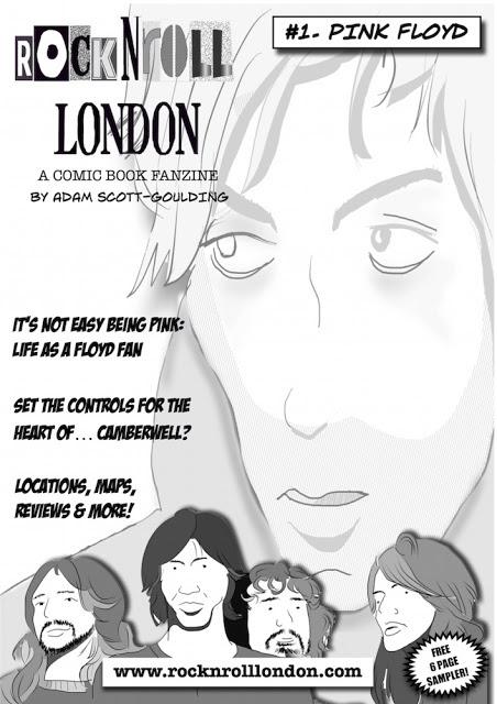 Rocknroll london june 2015 the rocknroll london comic book fanzine is a new companion book to the rocknroll london walking tour solutioingenieria Choice Image