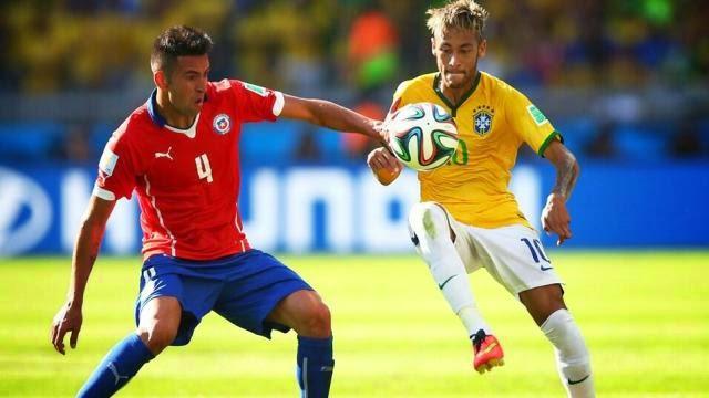 البرازيل تنجو من فخ تشيلي بركلات الترجيح وتتأهل لربع النهائي