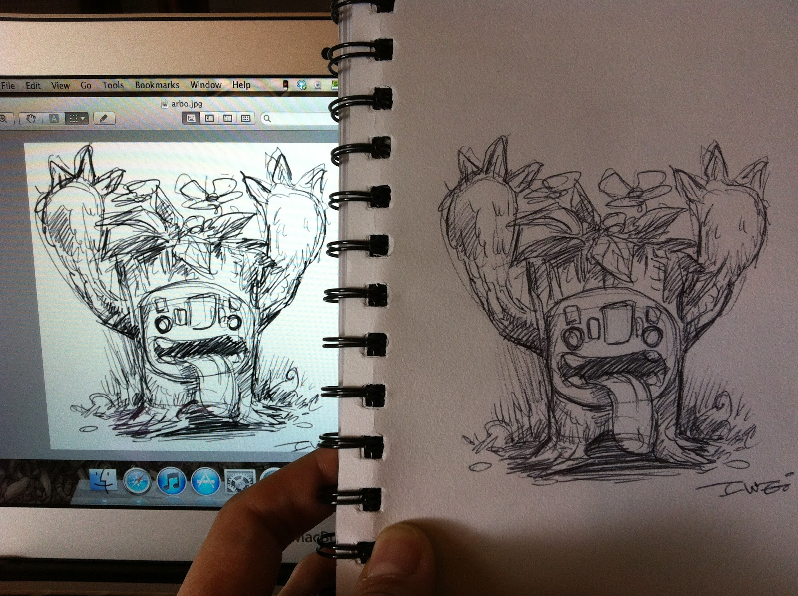 CrabFu Blog Wacom Inkling Review Problems And Solutions