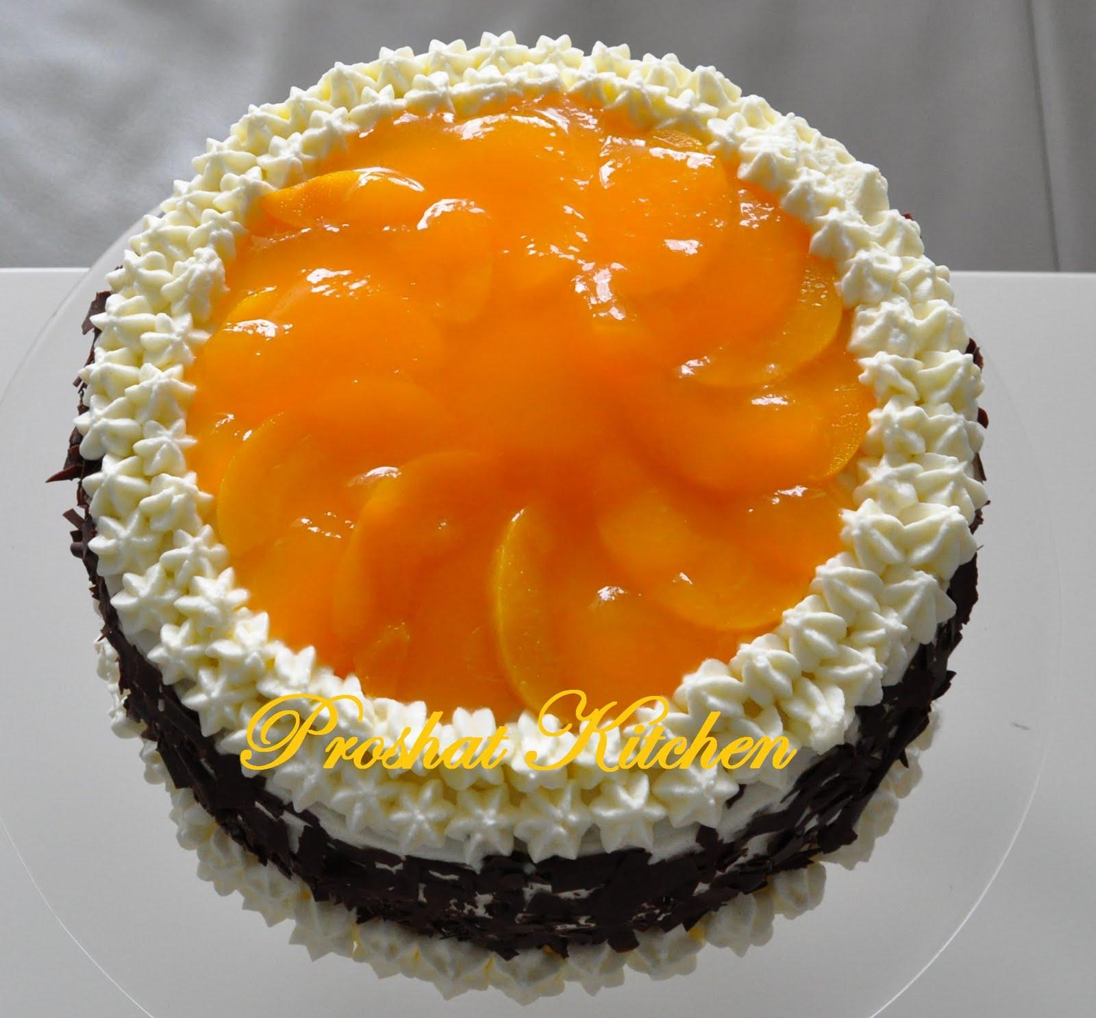 طرز درست ماکت کیک تولد لذت آشپزی