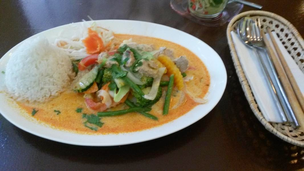 Vietnamesisches rotes Curry