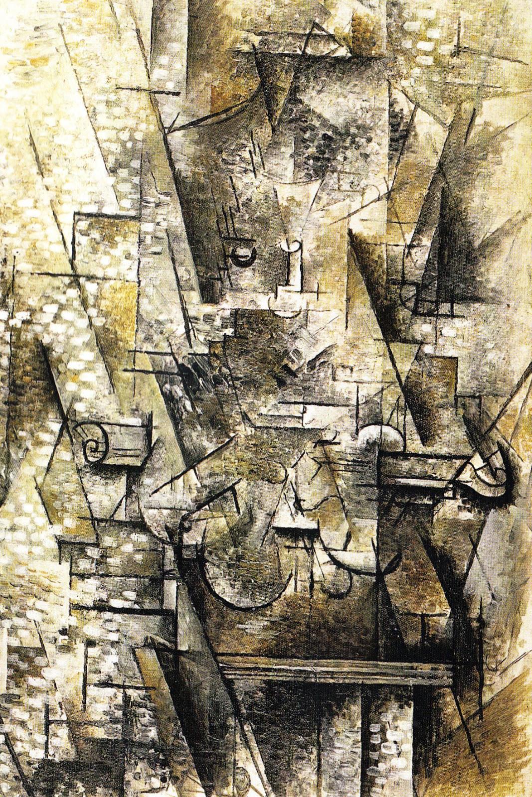 Decouverte mouvement futuriste for Braque peintre