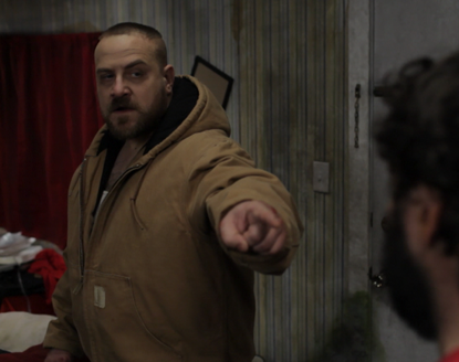 Pete Giovagnoli as Box the Ox in Motivational Growth (2013)