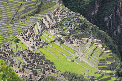 View of Machu Picchu from Wayna Picchu
