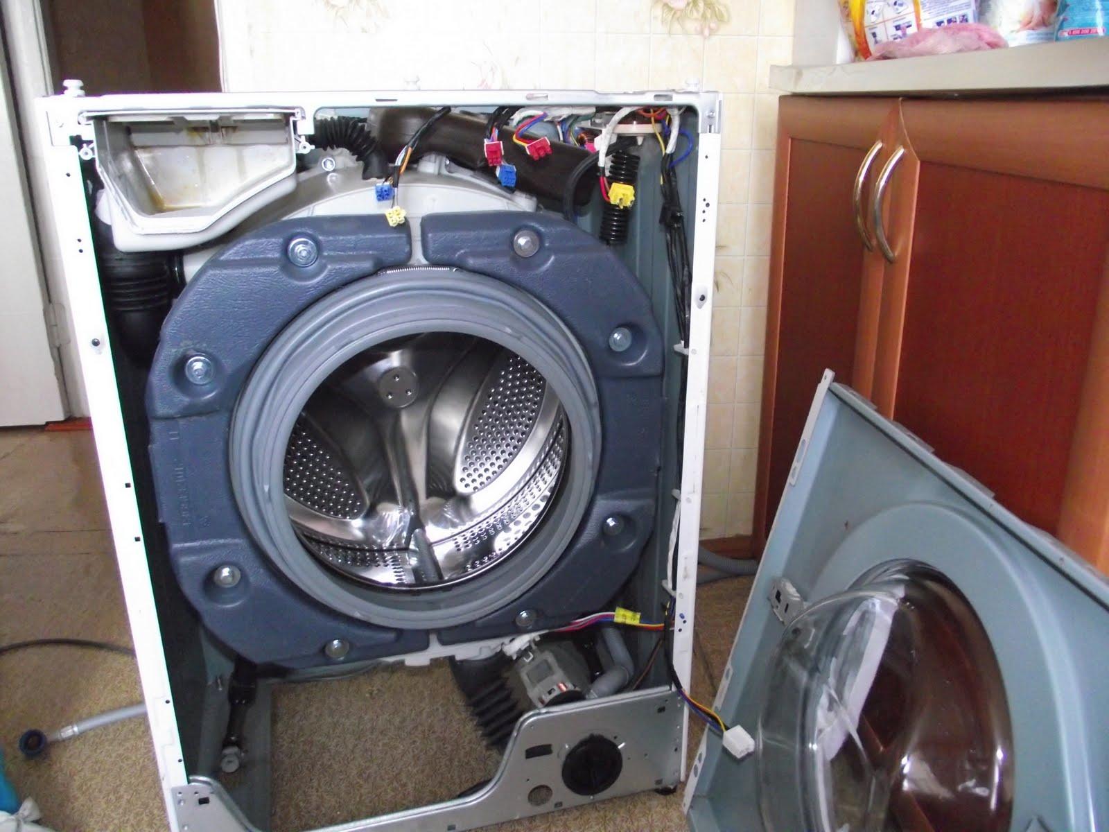 Ремонт амортизаторов на стиральной машине своими руками