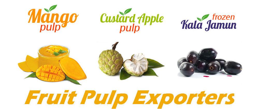 Fruit Pulp Exporters