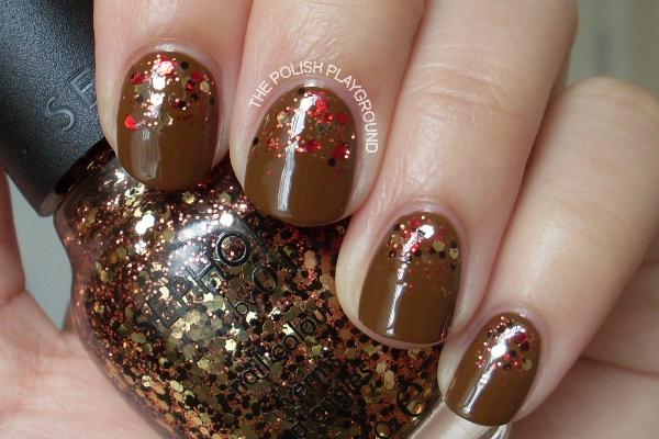 Reverse Glitter Gradient