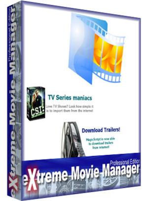 Extreme Movie Manager 8.0.3.9  - Arşiv Oluşturma programı