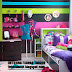 ideal teen room decor for modern girls - color explosion
