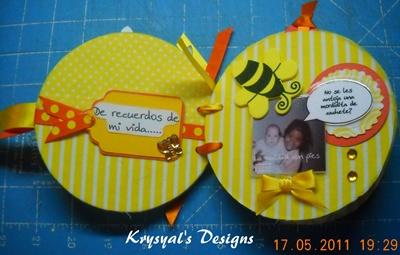 Krystal 39 s designs reciclado de abril por mosipis - Manualidades con cd usados ...