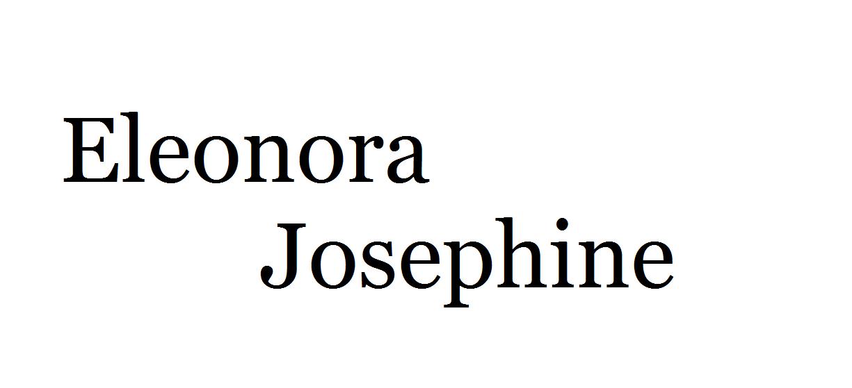 Eleonora Josephine