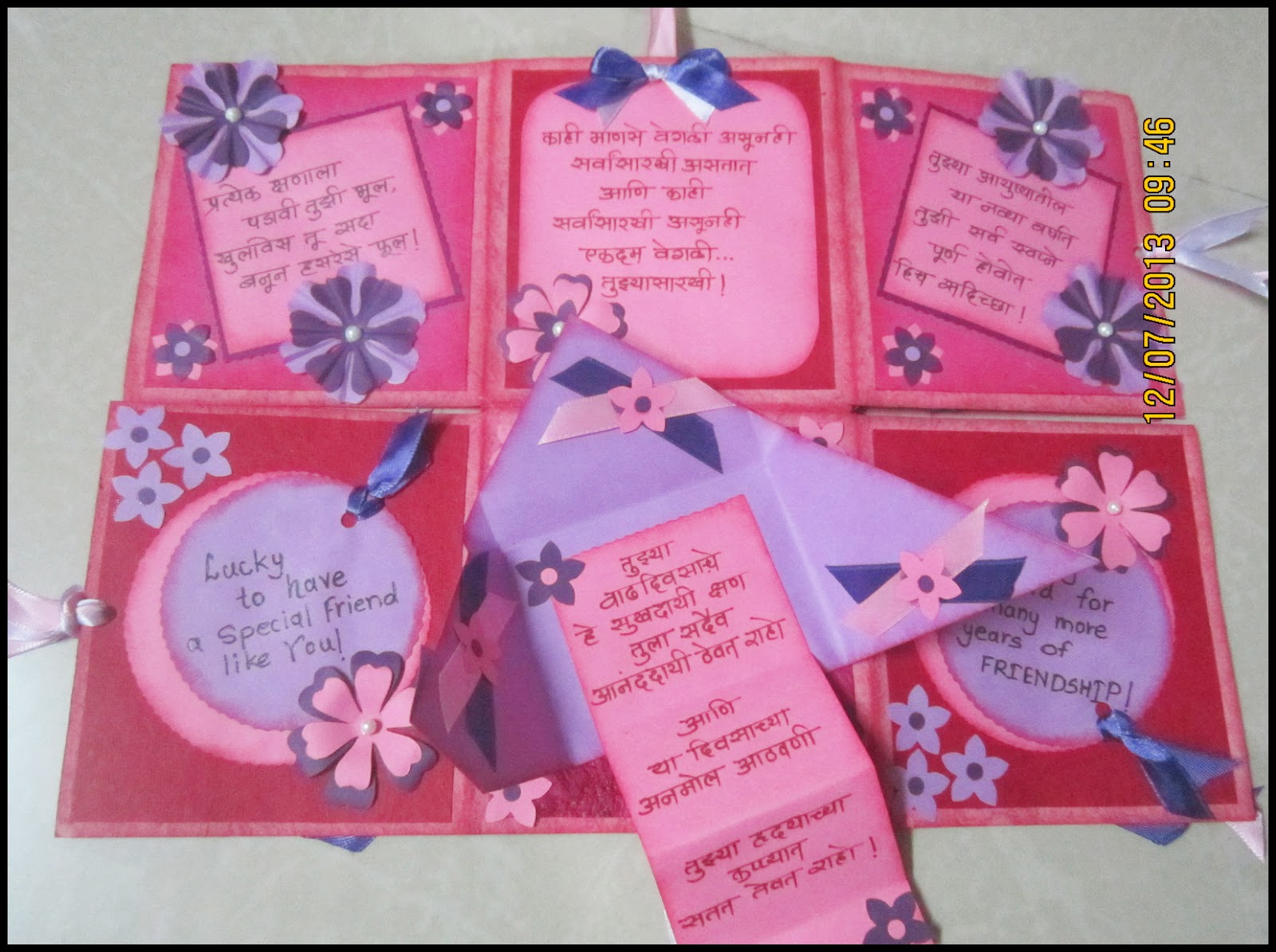 Linas handmade cards its a birthday card again for my friend m4hsunfo