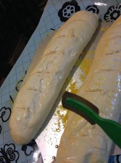 Making of Homemade Italian Dinner