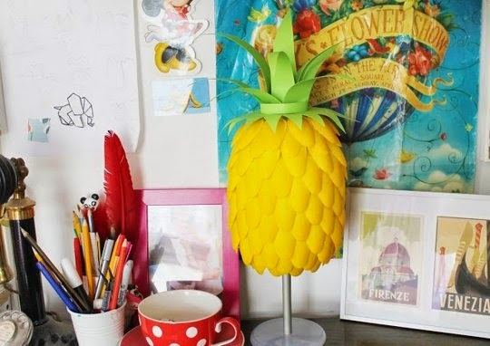 DIY Decor Trend Pineapple Craft Projects