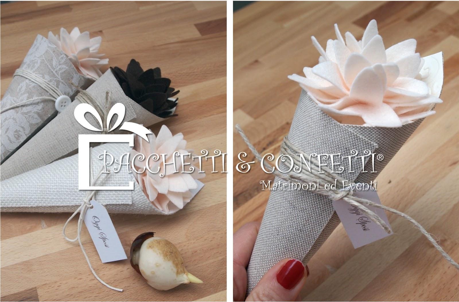Preferenza Pacchetti e Confetti: Bomboniere con bulbi: i conetti UK35