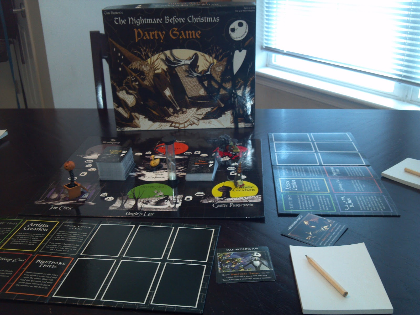 the nightmare before christmas party game a board game a day - The Nightmare Before Christmas Games