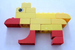 duplo duck, busy bag