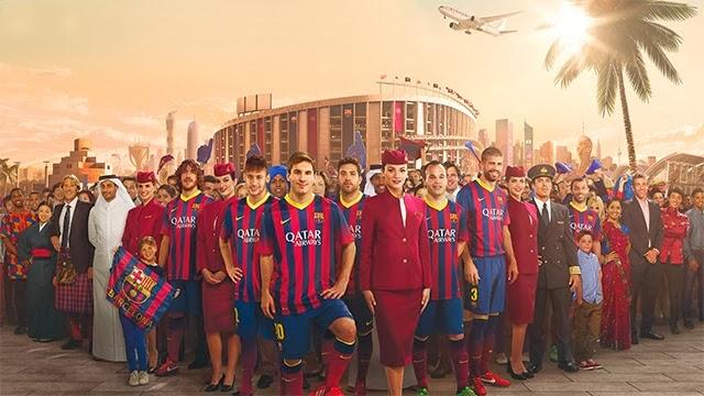 El anuncio de Qatar Airways y el FC Barcelona