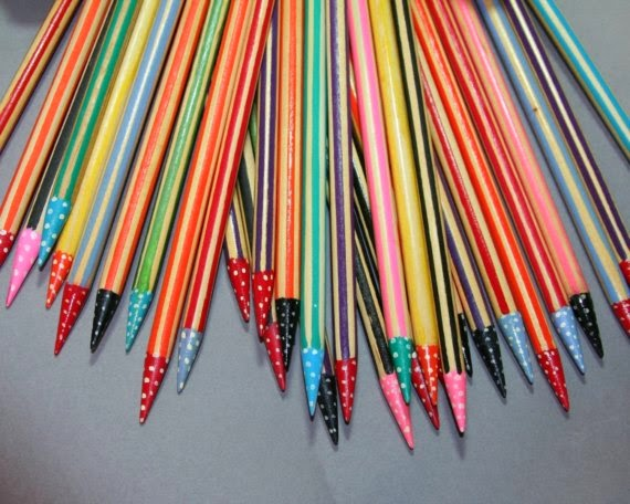Knitting Needles Paint Kitchen : The knitting needle and damage done how to make