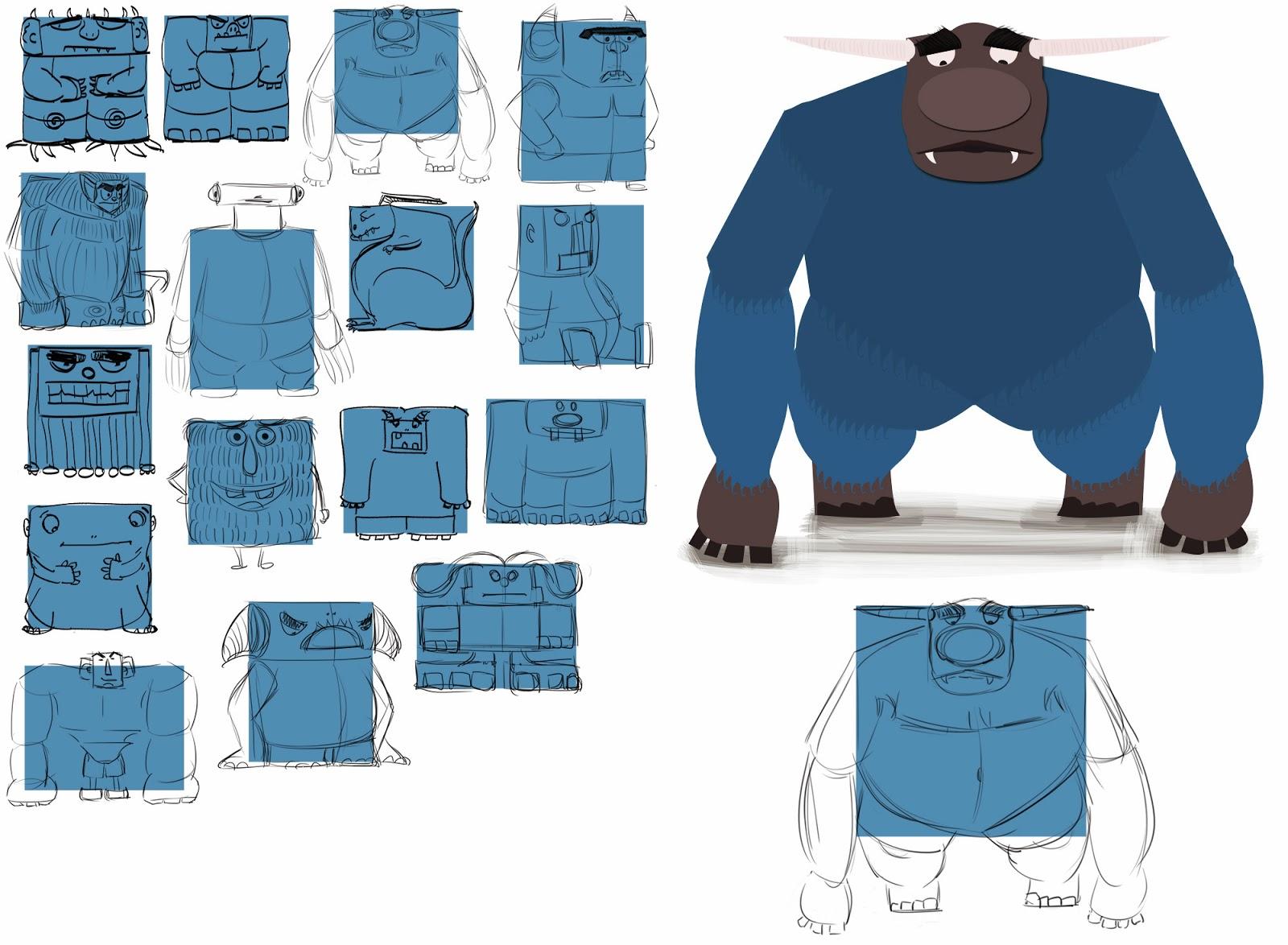 Character Design Class : Nikki s sketches character design class week