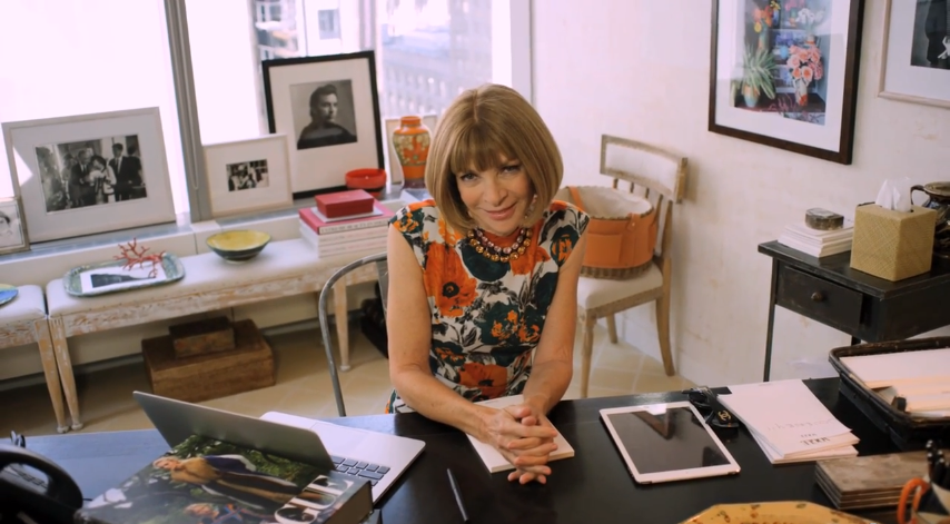 the maven at her desk inside her impeccable office at headquarters at times square nyc 73 questions with anna wintour by cond nast anna wintour office google