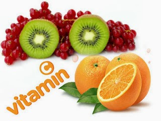 Vitamin C in fruits