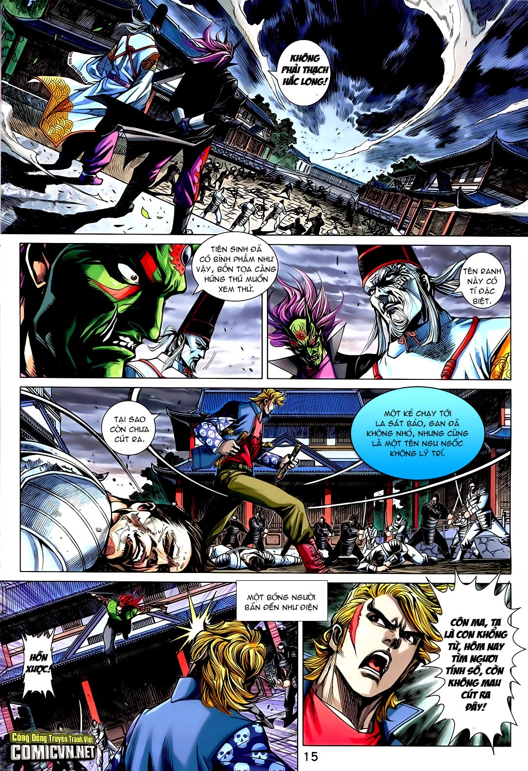 Tân Tác Long Hổ Môn chap 730 - Trang 15