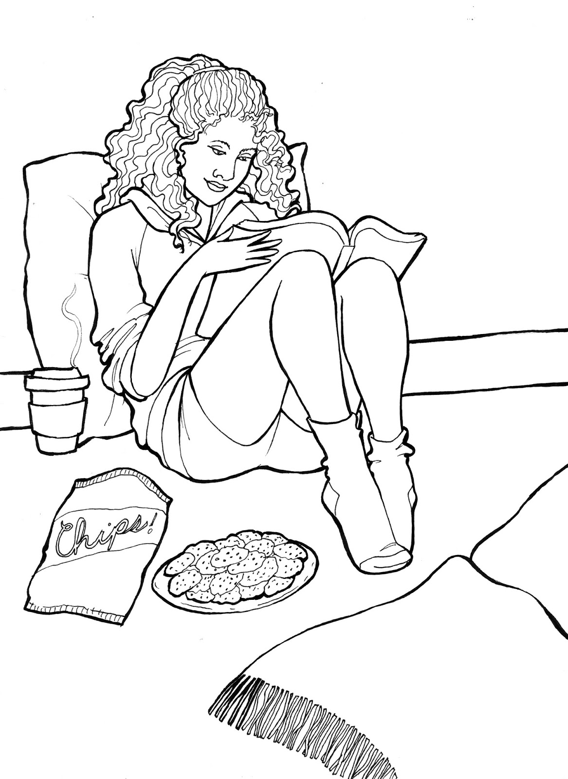 the spinsterhood diaries a coloring page and the next book i want
