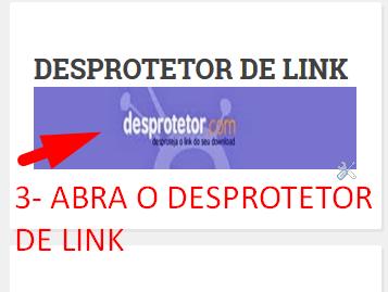 DESPROTETOR DE LINK