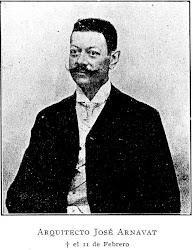 Ingeniero Arquitecto José Arnavat (Reus 1861 - Buenos Aires 11/02/1908)