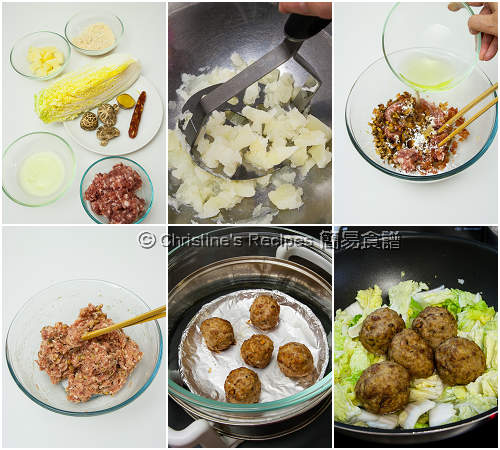 Lion's Head Meatballs Procedures