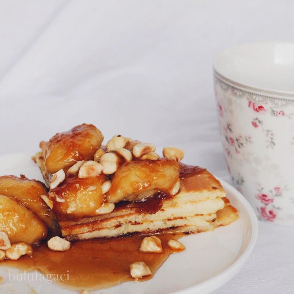 Karamelize pancake tarifi