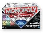 Cover of the box from the new Monopoly Millionaire game from Hasbro.