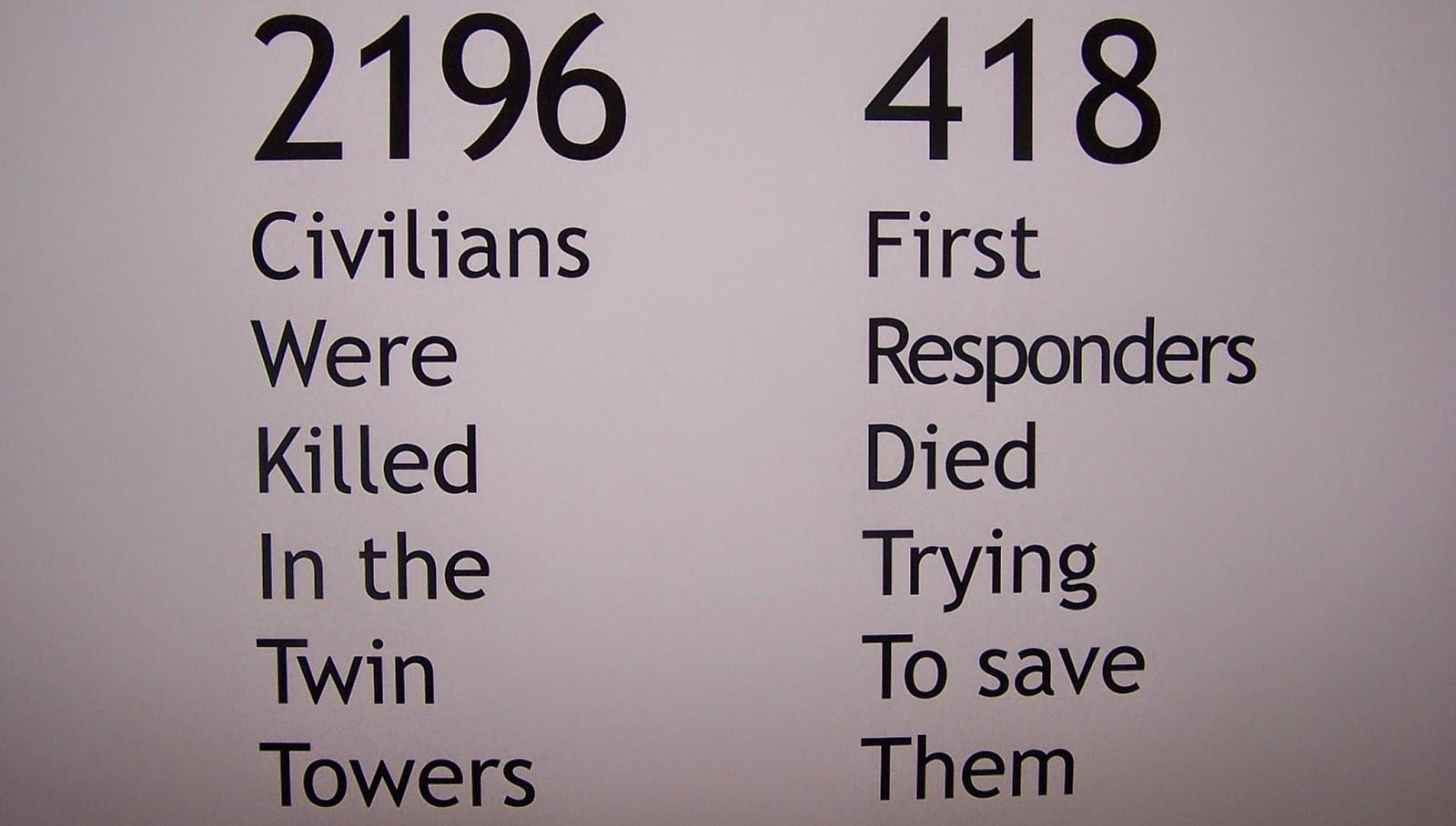 sept 11 stats
