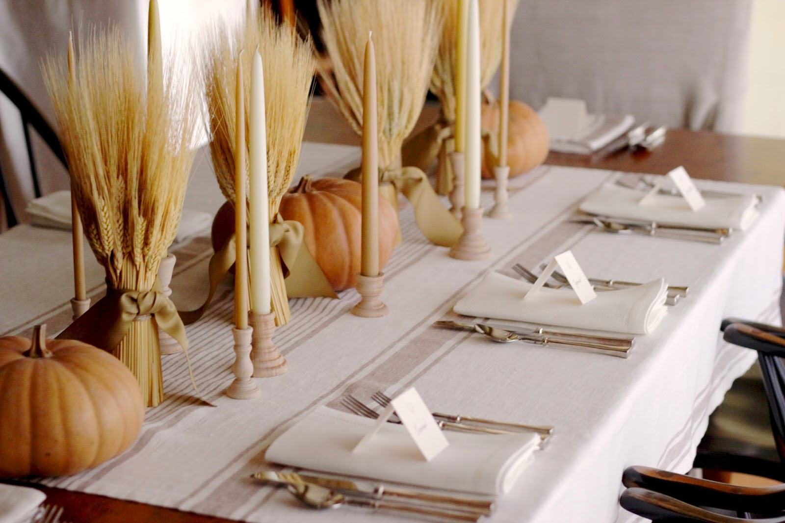 Jenny Steffens Hobick: My Tips for Setting a Table | Wheat Harvest ...