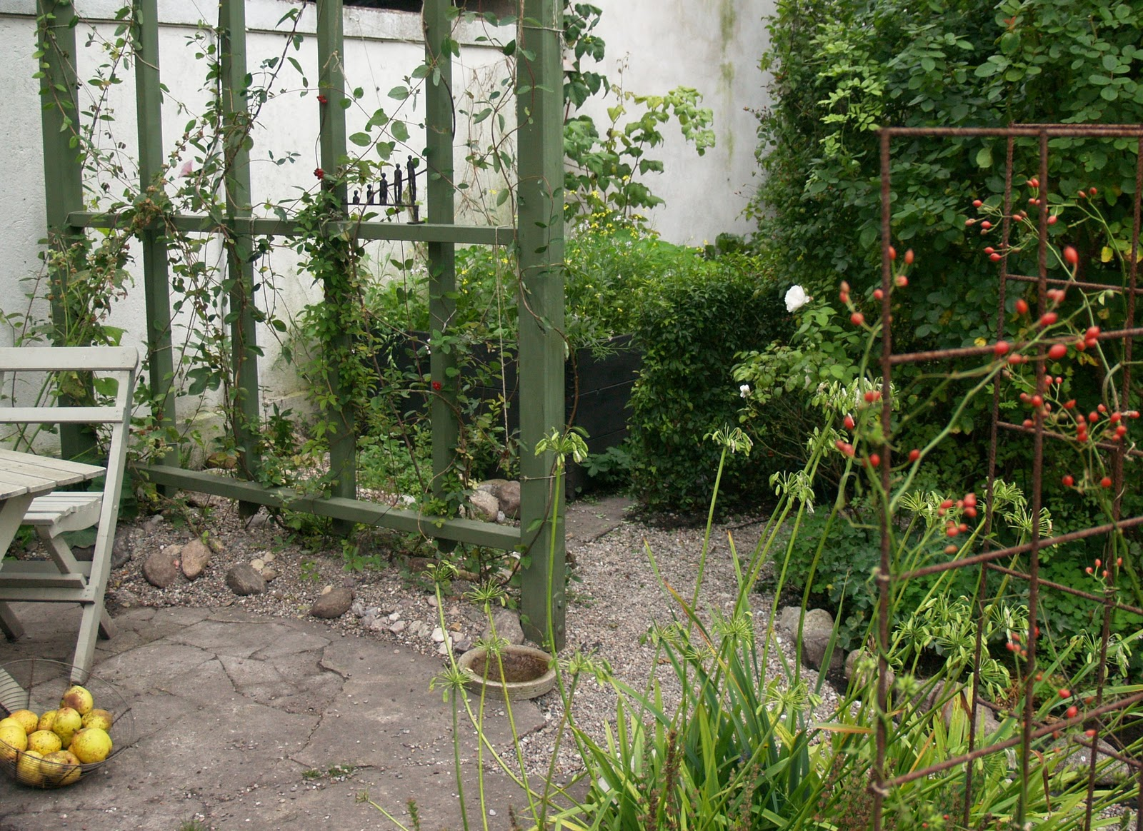 En grön sida: min trädgård