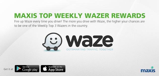 Kempen penggunaan Waze dari Maxis