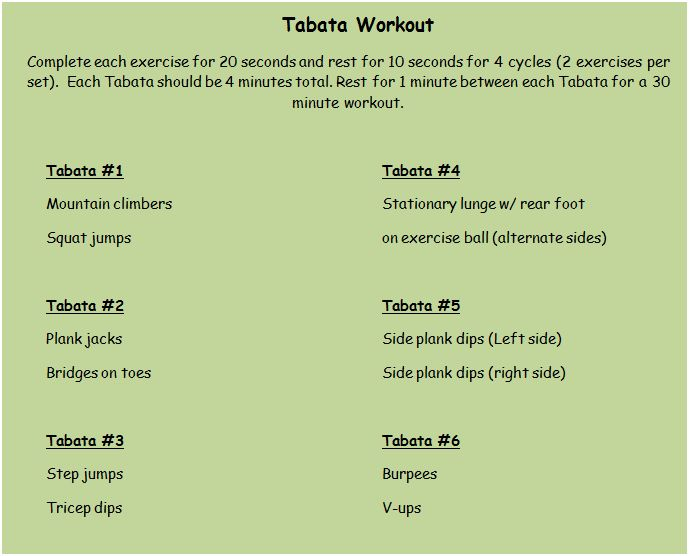 Home 187 search results for quot tabata cardio workout high intensity