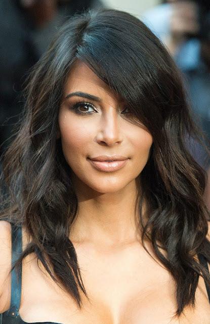 cabelo kim kardashian