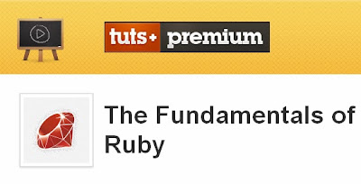 Tutsplus – The Fundamentals of Ruby