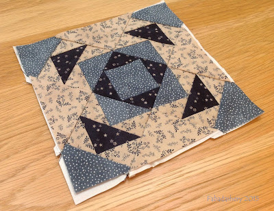 Miniature Block of the Month July 2015 - The Quilt Room