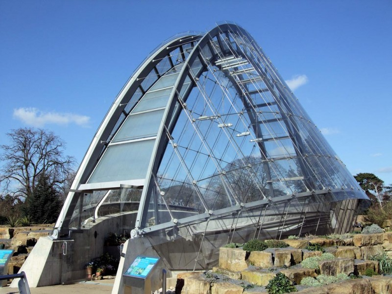 Davies Alpine House High Tech Greenhouses Architecture Of
