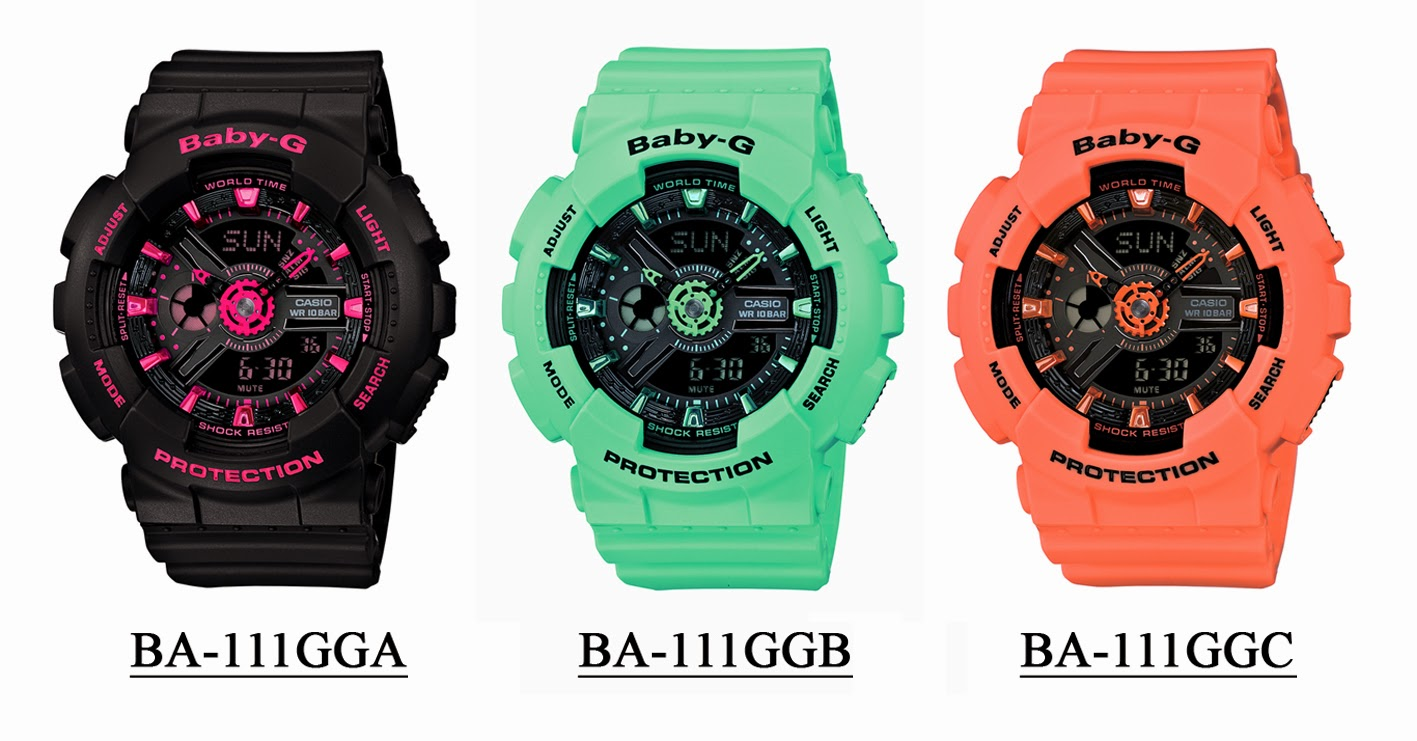 The Casio Baby G comes with new releases every year. Baby-G Digital Features: The more common of the two variants, this digital watch comes with the similar features as the G-Shock.