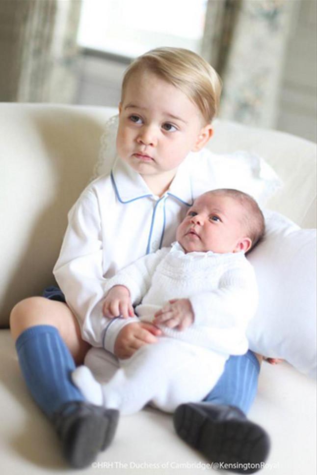 Príncipe George e princesa Charlotte 04