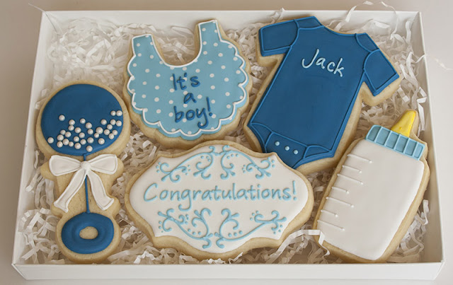 It's a boy cookie gift