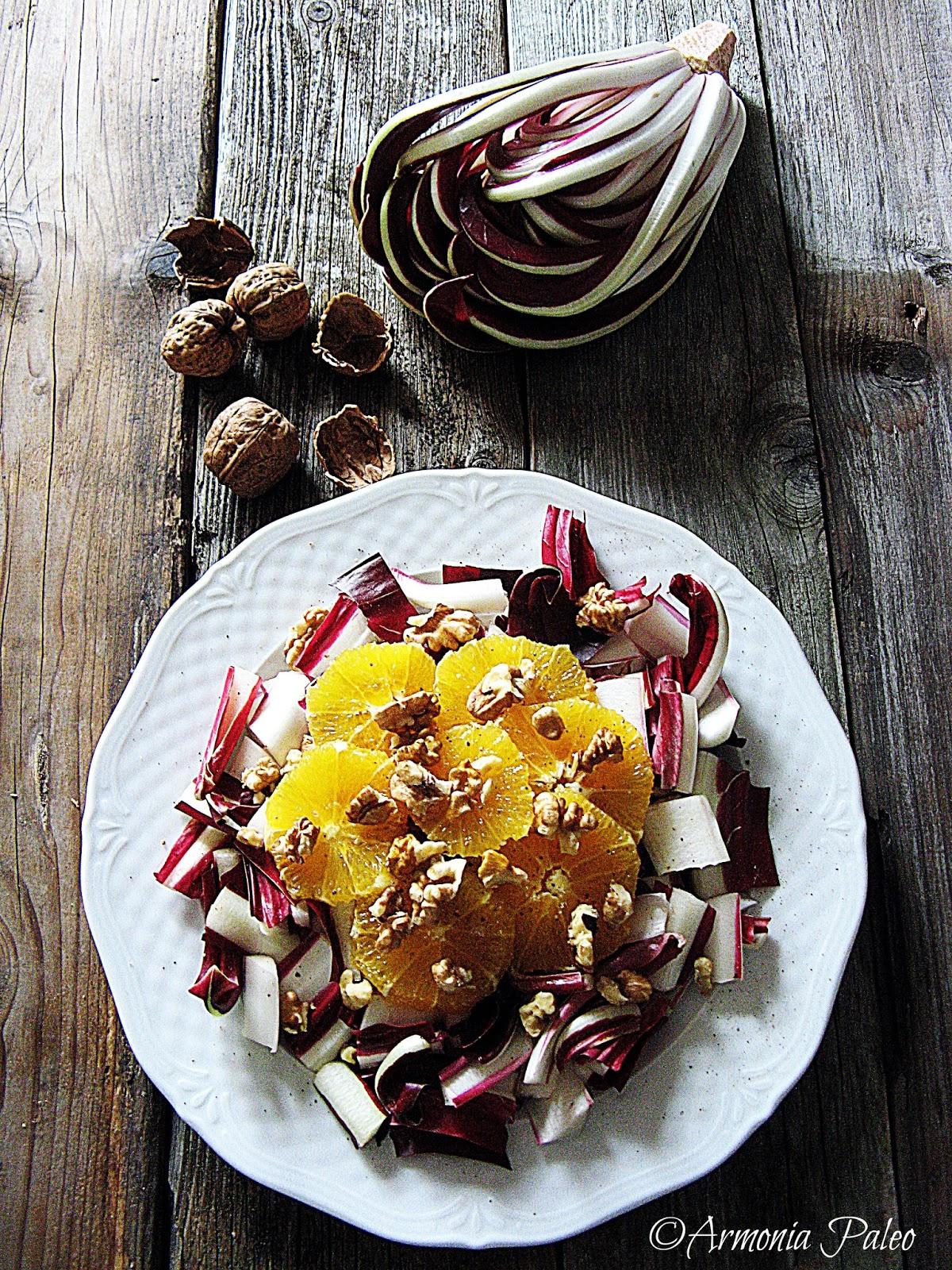 Insalata di Frutta e Fiori d'Inverno di Armonia Paleo