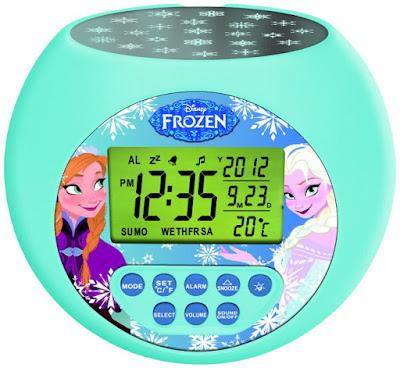 JUGUETES - DISNEY Frozen Despertador digital con proyección Producto Oficial Película | Lexibook RL975FZ Comprar en Amazon España