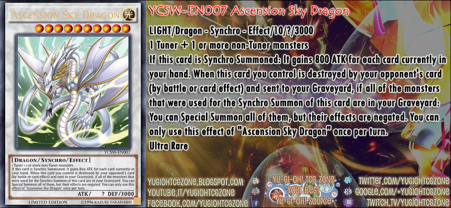 YCSW-EN007 Ascension Sky Dragon